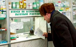 Порядок предоставления льготных лекарств для инвалидов