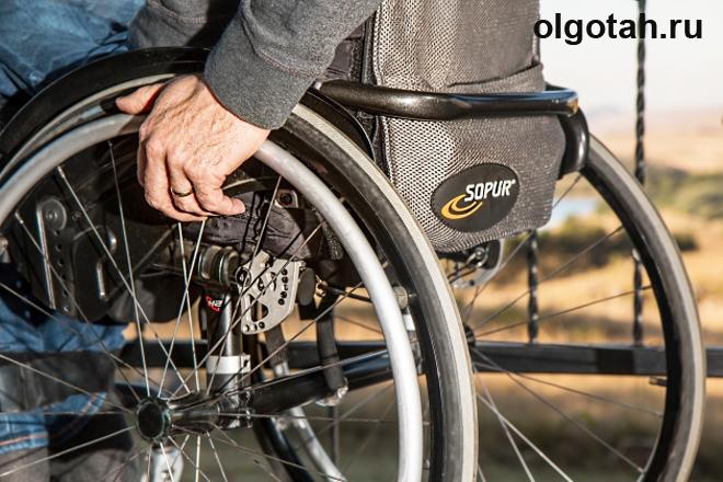 Колеса инвалидного кресла