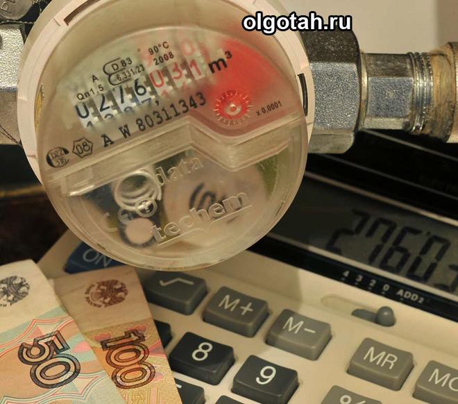 Счетчик, калькулятор, деньги
