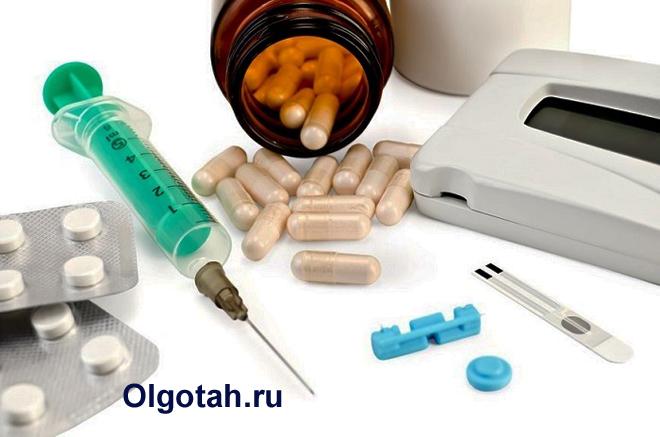 Медицинские препараты для лечения диабета