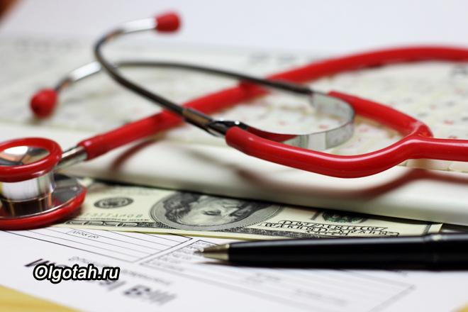 Медицинские приборы, доллары