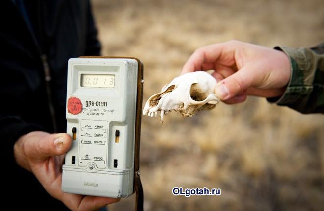 Ученые измеряют радиационный фон