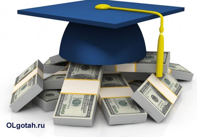 Ученическая шапка, доллары